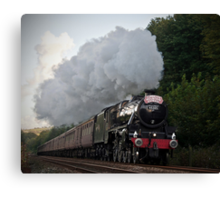 The Cumbrian Mountain Express Canvas Print