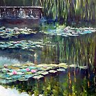 Water lilies by Beata Belanszky Demko