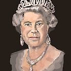 Queen Elizabeth II by Nigel Silcock