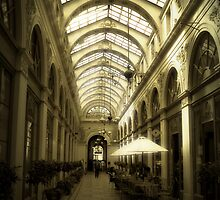 Paris Arcade by Margaret Goodwin