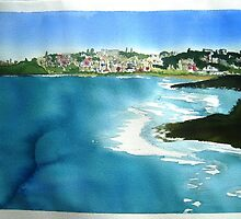 winter  afternoon  Coogee beach view by taariqhassan