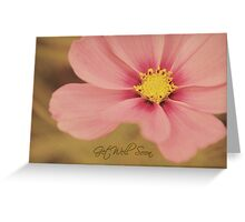 Floral - Get well soon card Greeting Card