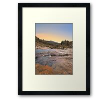Beraking Brook - Western Australia  Framed Print