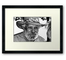 Uncle Ray Framed Print