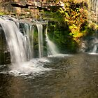 Lumb Falls, Hebden Bridge by James Dolan