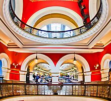 On The Level - Queen Victoria Building - Sydney - Australia by Bryan Freeman