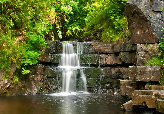 Waterfalls by Trevor Kersley