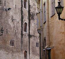 Medieval streets by Bluesrose