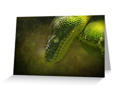 As Green as Green..... Greeting Card