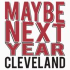 Maybe Next Year Sticker by bsetliff217