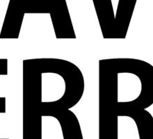 Save Ferris Unless Sticker