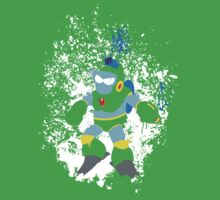 Bubble Man Splattery Vector shirt by thedailyrobot