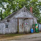 Hawker's Welding Shop by Sheryl Gerhard