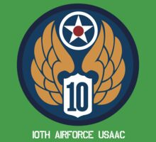 10th Air Force Emblem  by warbirdwear