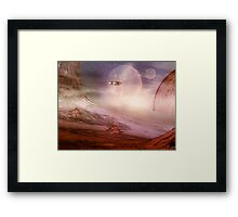 Space Exploration Framed Print