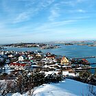 Swedish Island - Snowy View by VioletHalo