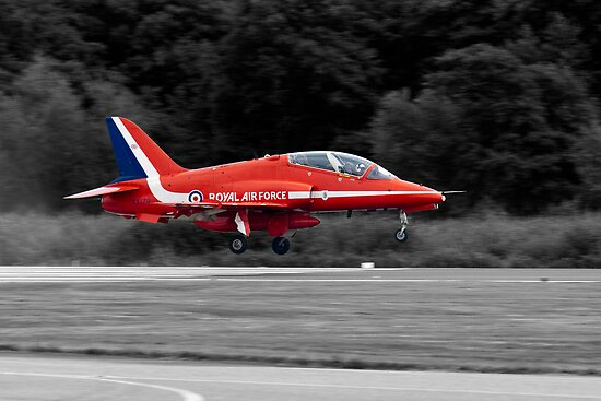 Red Arrows XX179's Last Safe Landing by Steve Brown
