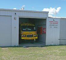 Biarra Rural Fire Brigade by Margaret  Hyde