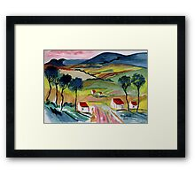 Everyday moments Framed Print