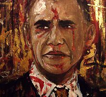 Obama by amoxes