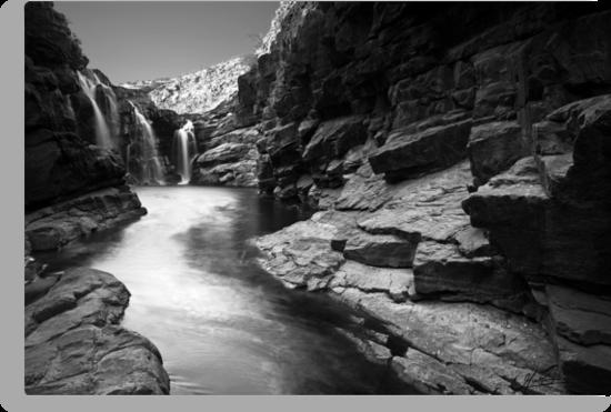 Lennard Gorge in Monochrome by Mieke Boynton