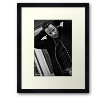 Ryan Robbins - Actors Studio Limited Edition Series Print [A1] Framed Print