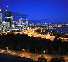 City Skyline by Jill Fisher