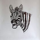 Zebra Scream by Adair Imrie