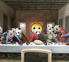 Panda's Last Supper by Darren Stein