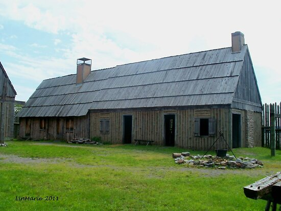 Forge at Ste. Marie Among the Iroquois by linmarie