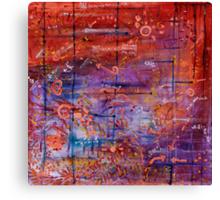 Vector Field Canvas Print
