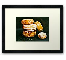 Sugar High...Doughnuts.. Framed Print