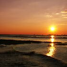 Sun Down Chobe River by Mark Braham