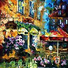 WHERE YOU LOVING ME - original oil painting on canvas by Leonid Afremov by Leonid  Afremov
