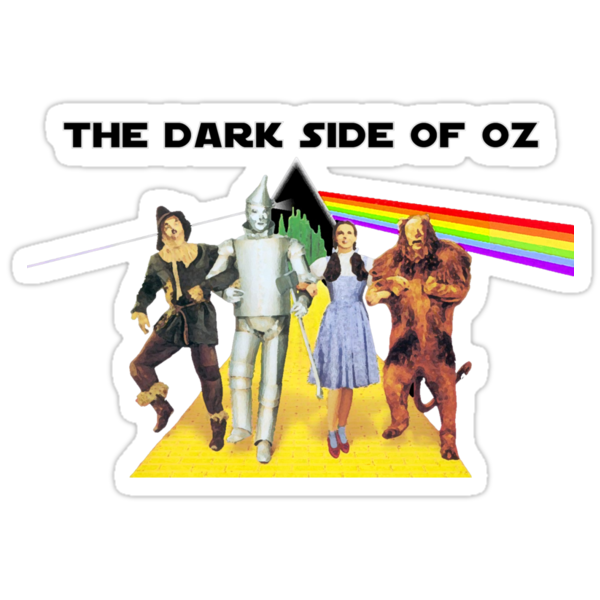 The Dark Side Of Oz (T-Shirt ) by PopCultFanatics