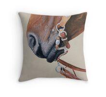 Horse Tack Throw Pillow