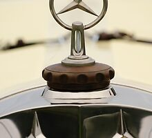 1927 Mercedes-Benz S Rennwagen Hood Ornament by Jill Reger