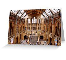 Natural History Museum Greeting Card