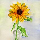 A Wild Sunflower by Anne Gitto