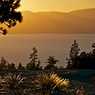 Last Light over Lake Tahoe by Helen Vercoe