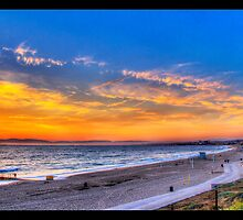 Sunset in Redondo Beach 2 by Phil Becker