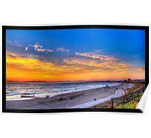 Sunset in Redondo Beach 2 Poster