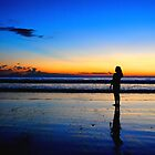 After Sunset at Kuta Beach by Purnawan Taslim Hadi