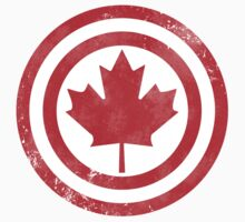 Captain Canada (Distressed) Kids Clothes