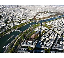 Paris in the air Photographic Print