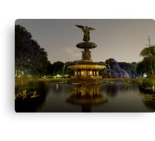 Bethesda Fountain, Central Park Canvas Print