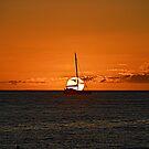 Maui sunset by Carl LaCasse