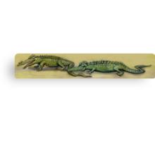 Crocodiles Canvas Print