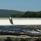 Quiet Waters, Holyoke Dam by Linda Jackson