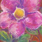 Burst (pastel) by Niki Hilsabeck